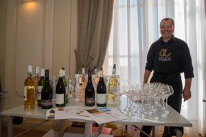 Dégustation de vins Pays d'Oc IGP lors des conférences de presse Tous au Restaurant 2018