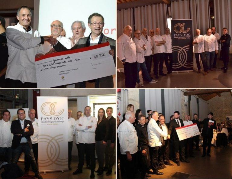 Partenariat Croix Rouge Hérault et Pays d'Oc IGP depuis 2013