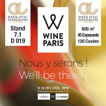 Infos Pays d'Oc IGP à Wine Paris